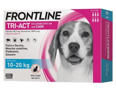 Merial FrontLine Dog Tri-Act 10-20 кг.