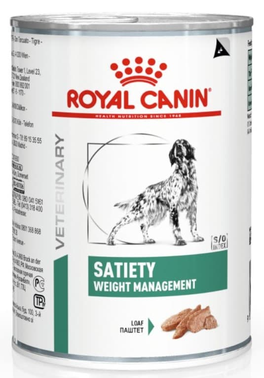 Royal Canin Veterinary Diet Satiety Dog Can 0.410кг.
