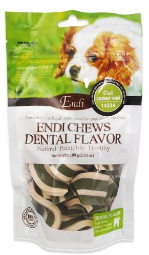 Endi Chews Strips with Green Tea Flavor