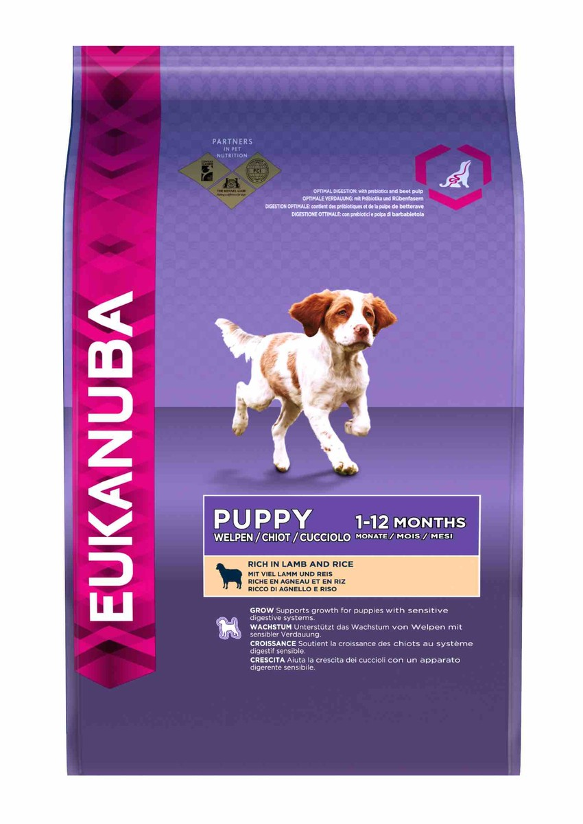 Eukanuba Puppy All Breeds - Lamb & Rice