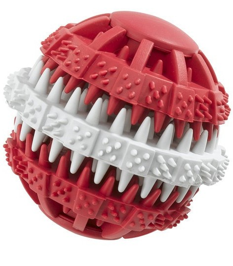 Ferplast Dental Rubber ball Red